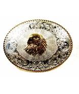 Western Silver Tone Gold Tone American Eagle Be... - $148.49