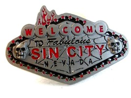 2005 Welcome to Fabulous Sin City Nevada Belt Buckle - $16.99