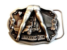 1992 Truckers Only Belt Buckle made in U.S.A. - $54.99
