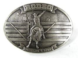 1977 Rodeo America's # 1 Sport Belt Buckle By Bergamont etc 81116 - $44.99