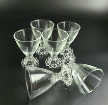 Vintage 1950's  - Set of 6 - Anchor Hocking - Boopie Glasses - $24.00