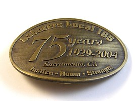 Vintage Laborers Local 185 75 Years 1929-2004 J... - $40.49