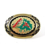 Vintage Kungfu Enameled Belt Buckle By KPI BUCK... - $22.49