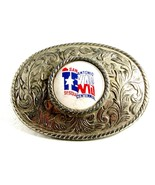 San Antonio Texas Sesquecentennial Belt Buckle ... - $15.29