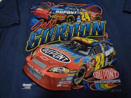 NASCAR T-Shirt Jeff Gordan XL NWT Blue Dupont Monte Carlo SS - $17.81