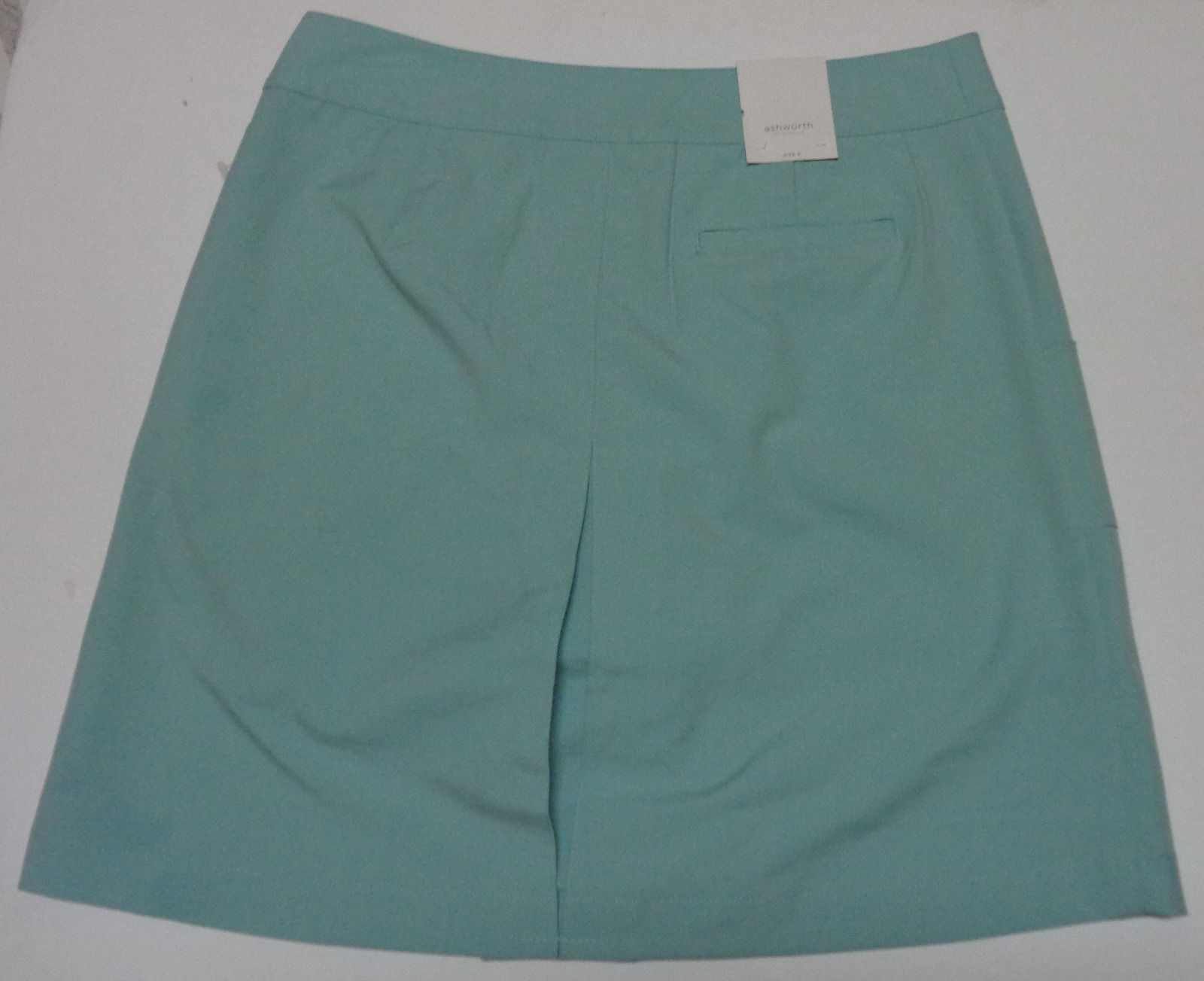 Ashworth Golf Skorts NWT Women's Performance Blue Sz 6