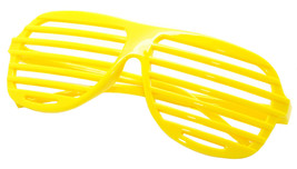 Large Size Neon Party Rave EDM EDC Eyewear Shades Adult Glasses Frame Ye... - $5.93