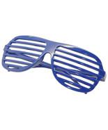 Large Size Neon Party Rave EDM EDC Eyewear Shades Adult Glasses Frame Blue - $5.93