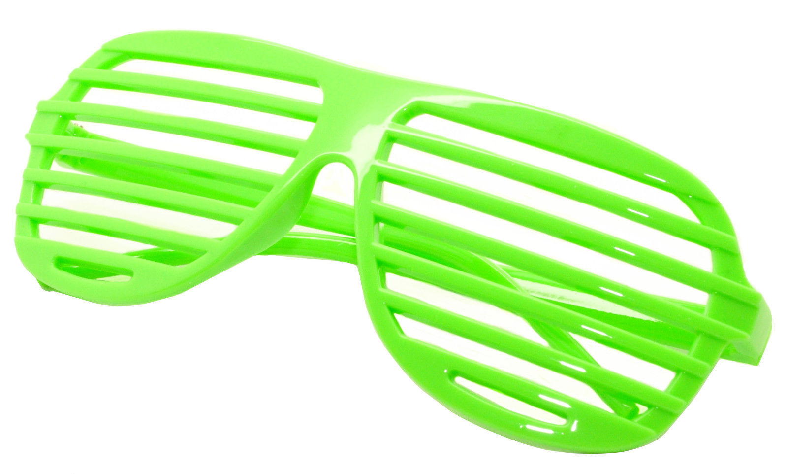 Large Size Neon Party Rave EDM EDC Eyewear Shades Adult Glasses Frame Green