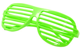 Large Size Neon Party Rave EDM EDC Eyewear Shades Adult Glasses Frame Green - $5.93