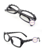 Mat Black Retro Classic Diamond Cut Fashion Glasses Frame Unisex Eyewear... - $6.92
