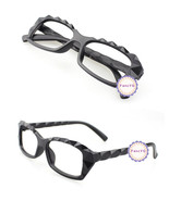 Mat Black Retro Classic Diamond Cut Fashion Glasses Frame Unisex Eyewear... - $6.92