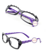 Purple Retro Classic Diamond Cut Fashion Glasses Frame Unisex Eyewear No... - $6.92