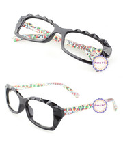 Color Dot Retro Classic Diamond Cut Fashion Glasses Frame Unisex Eyewear... - $6.92