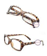 Leopard Retro Classic Diamond Cut Fashion Glasses Frame Unisex Eyewear N... - $6.92