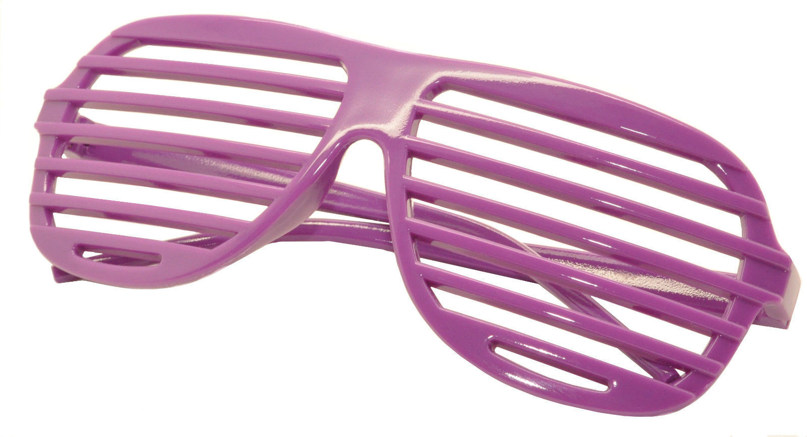 Large Size Neon Party Rave EDM EDC Eyewear Shades Adult Glasses Frame Purple