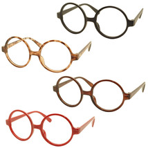4 x Vintage Classic Geek Nerd Style Glasses Frame NO LENS Cute Costume E... - $12.86
