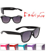 12 Assorted Unisex Fashion Sunglasses Polka Dots UV 400 Protection - $49.49