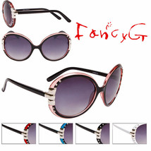 12 Assorted Unisex Fashion Sunglasses Round Stylish UV 400 Protection - $49.49