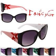 12 Assorted Unisex Fashion Sunglasses Bow Style UV 400 Protection - $49.49