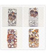 iPhone 5S 5 Case 3D Diamond Pearl Bling Crystal Luxury Rhinestone Cover ... - $11.88+
