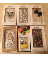 New iPhone 4S Case Lot 5 Cases Free Plugs Sale Clearance iPhone 4 Cover ... - $9.89