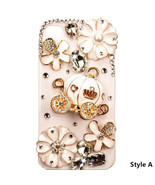 Elegant 3D Luxury Bling Crystal Cinderella's Pumpkin Wagon Case For iPho... - $5.99