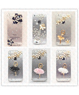iPhone 5S 5 4S 4 Case Diamond Bling Crystal Rhinestone Cover Transparent... - $9.99