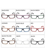 New Classic Vintage Style Retro Rectangle Shape Clear Lens Glasses Frame... - $5.99