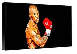 Mike Tyson Portrait, Canvas Wall Art, Huge Print A1 - $80.29