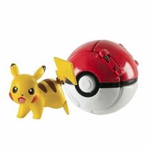 Pokemon Pikachu & Ultra Ball By TOMY - $27.11