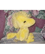 """12"""" Peanuts Chirping Woodstock Plush Toy Wings & Mouth Moves Worlds of W... - $56.09"""