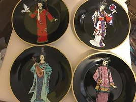 Chinese Plates(set of 4) Made in China-Traditio... - $54.45
