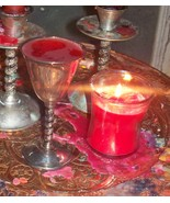 Vintage Silver Vampire Ritual Communion Chalice For Communication And Attraction - $40.00