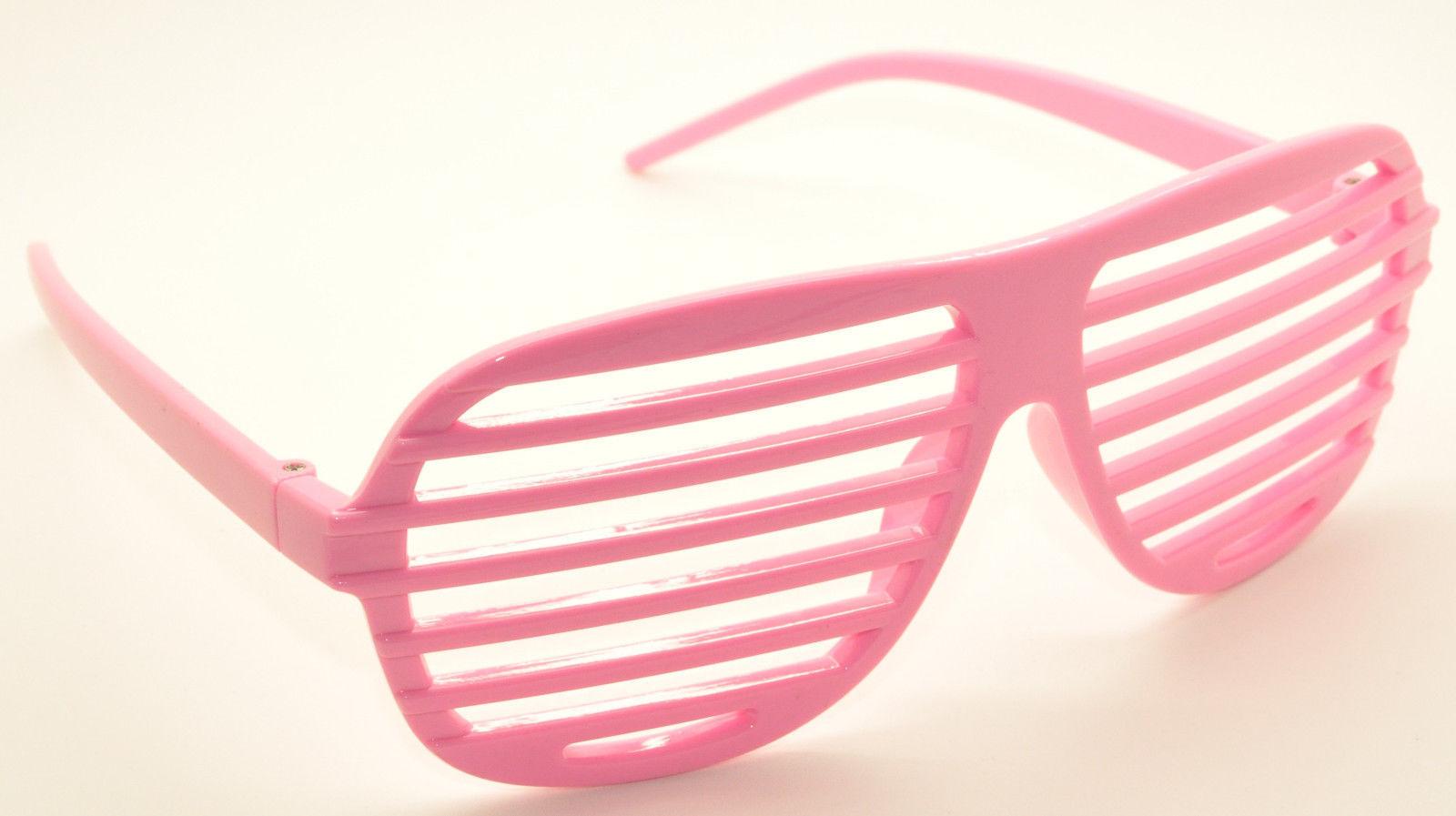 9PC Large Size Neon Party Rave EDM EDC Eyewear Shades Adult Glasses Frame Set1