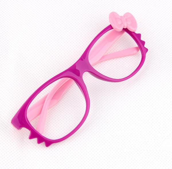 Kid Toy Costume Lovely Cute Fashion Whisker Bow Tie Glass Frame Eyewear No Lens image 3