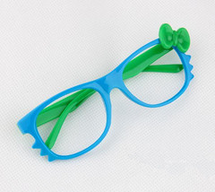 Kid Toy Costume Lovely Cute Fashion Whisker Bow Tie Glass Frame Eyewear No Lens image 4