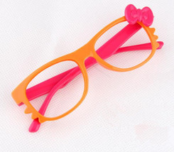 Kid Toy Costume Lovely Cute Fashion Whisker Bow Tie Glass Frame Eyewear No Lens image 6