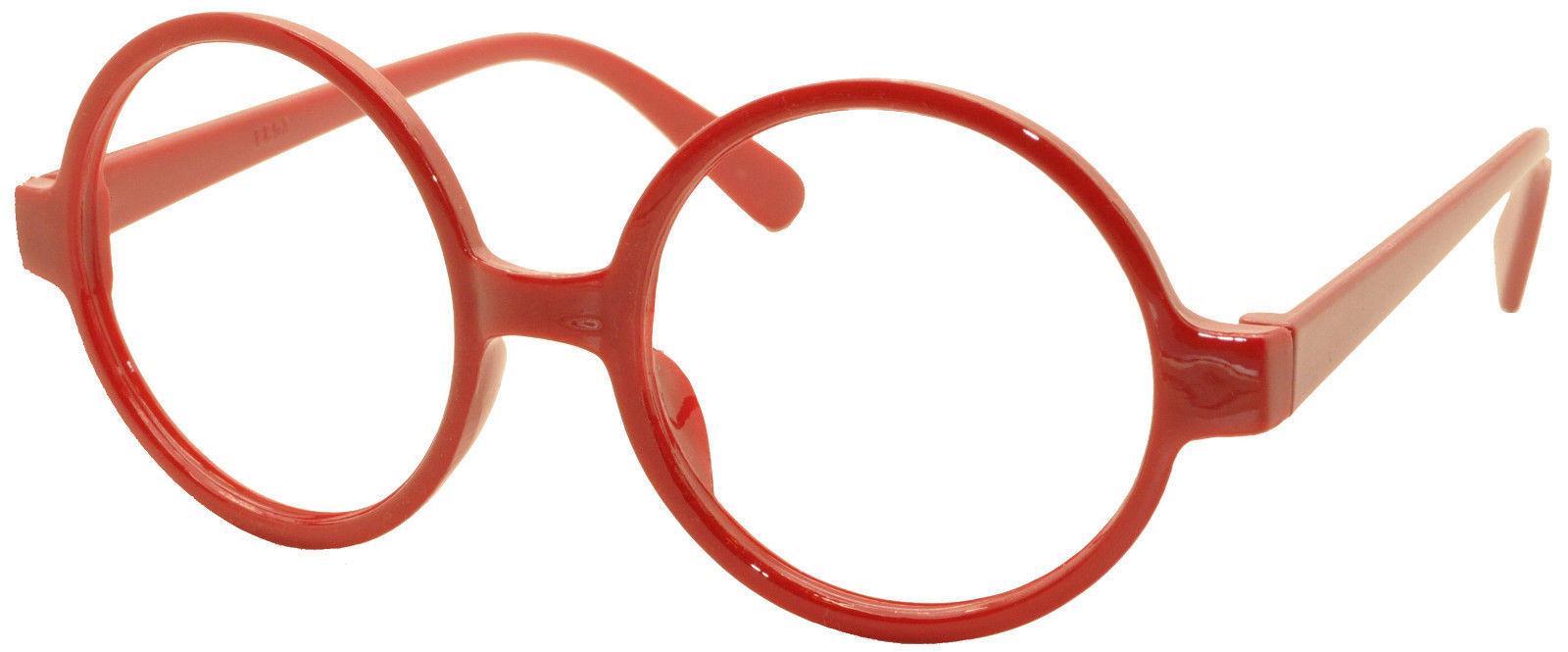 4 x Vintage Classic Geek Nerd Style Glasses Frame NO LENS Cute Costume Eyewear