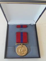 Usn Us Navy Usmc & Fleet Marine Corps Unissued Cased Good Conduct Medal Set #6UB - $28.70