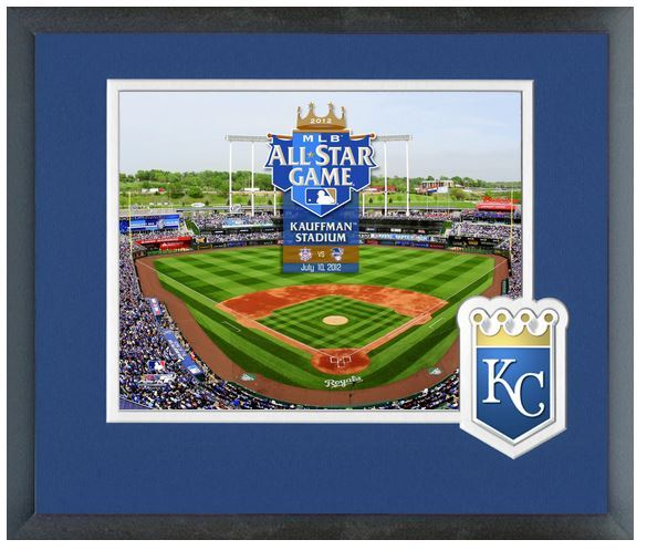 "Kauffman Stadium 2012 MLB All-Star Game - 11"" x 14"" Matted and Framed Photo"