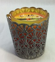 Bath and Body Works Small Candle and Candle Holder. - $9.00