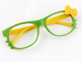 Kid Toy Costume Lovely Cute Fashion Whisker Bow Tie Glass Frame Eyewear No Lens image 5