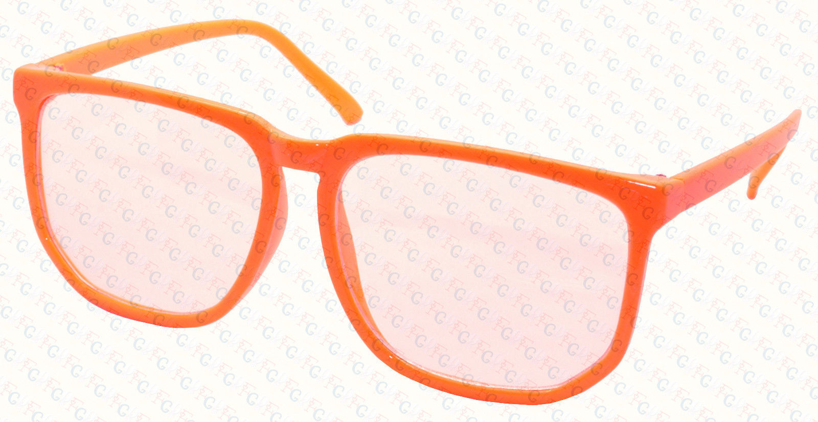 Retro Vintage Inspired Classic Nerd Clear Lens Glasses Fashion Eyewear