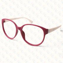 New Large Size Vintage Retro Nerd Oval Round Glass Frame Eyewear NO LENS Costume image 3