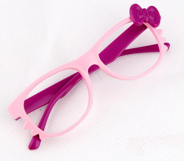 Kid Toy Costume Lovely Cute Fashion Whisker Bow Tie Glass Frame Eyewear No Lens image 2