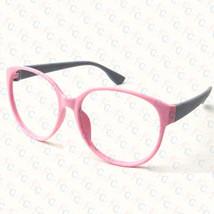 New Large Size Vintage Retro Nerd Oval Round Glass Frame Eyewear NO LENS Costume image 6