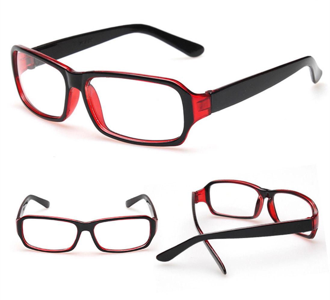 New Classic Vintage Style Retro Rectangle Shape Clear Lens Glasses Frame Eyewear