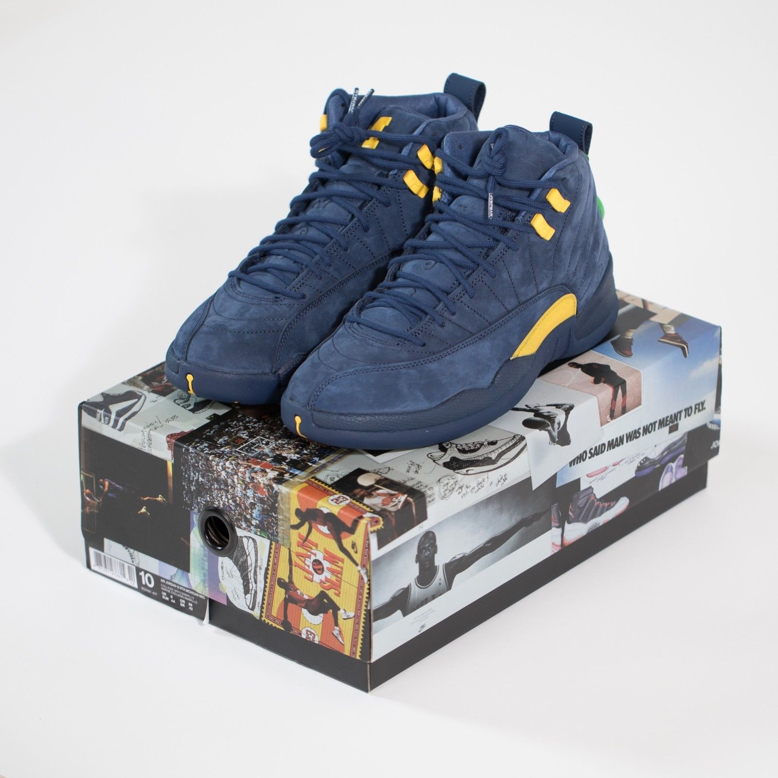 super popular f6fd2 2bcc4 Jordan Michigan 12 DeadStock Size 11 and 26 similar items. S l1600