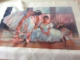 Elsa Williams  Wait For Me  Ballet dancers Color Background started - $11.00